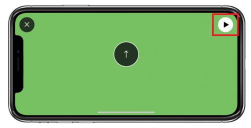 shotvision(ショットビジョン)弾道計測開始ボタン